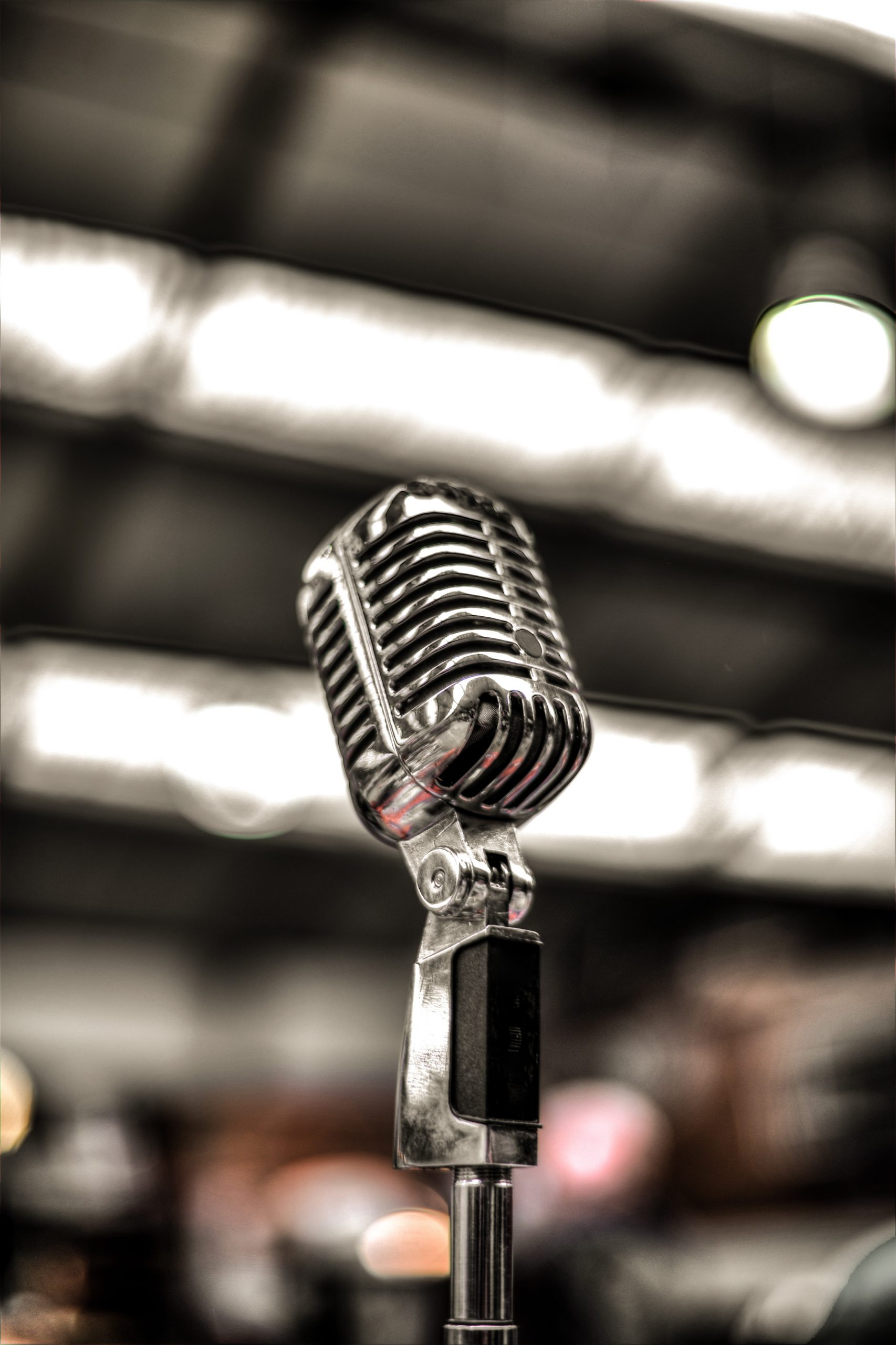 silver-colored-microphone-675960